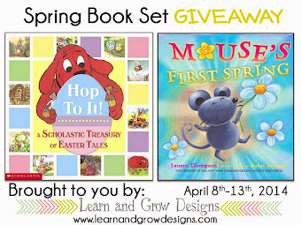 Children's Spring Book Set Giveaway Ends 4/13/14
