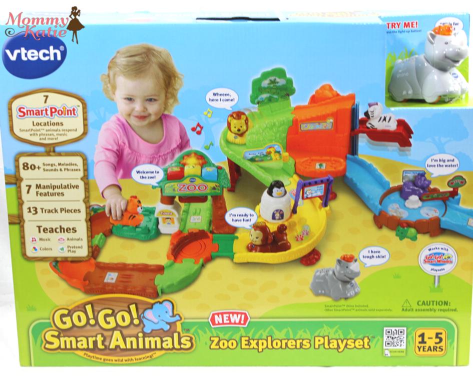 ... Katie: #Giveaway VTech Go! Go! Smart Animals Zoo Explorers Playset Zoo Animals Toys