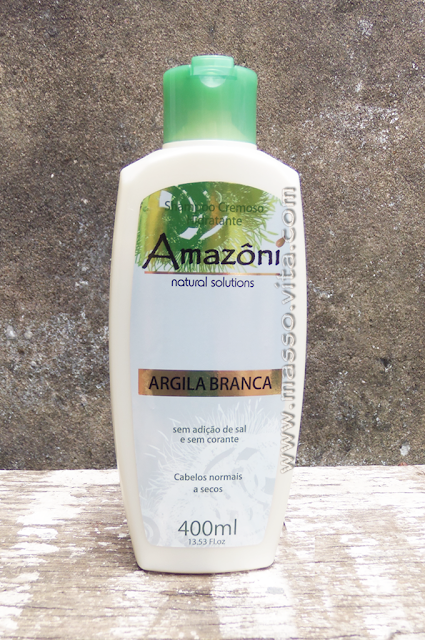 Shampoo Hidratante Cremoso Argila Branca