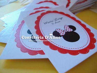 adesivos personalizados Minnie