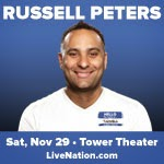 Russell Peters Tix