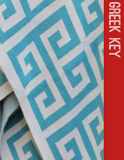 Happy Habitat Greek Key Throw Blanket