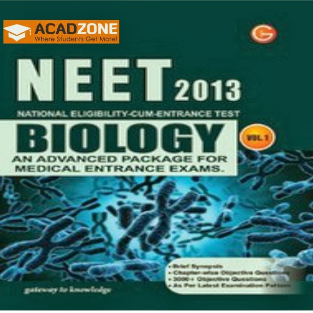 NEET-2013 Biology Vol 2 An Advanced Package For Medical Entrance Exam