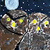 Celestino Piatti Inspired Owls