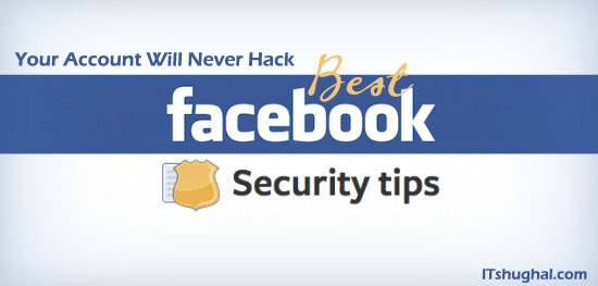 Important Security tips for your Facebook account from Hackers