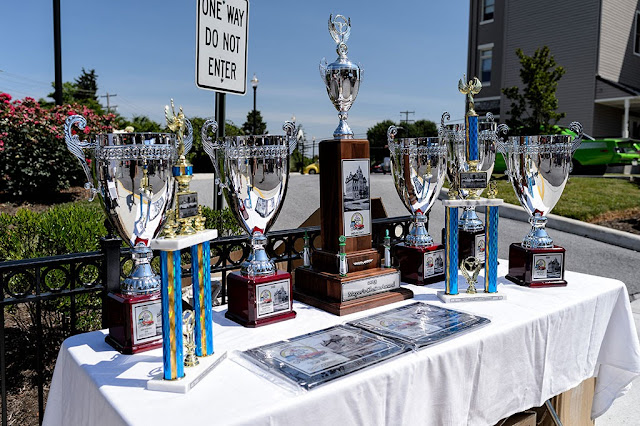 Trophies at The Ranson Car Show