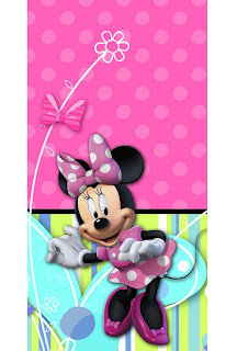 Disney Minnie Mouse Bow-tique Plastic Tablecover