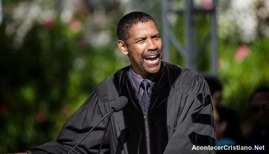 """Denzel Washington dice: """"Pongan a Dios primero en todo lo que hagan"""""""