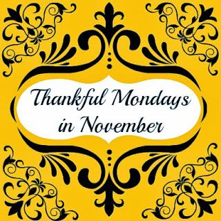 Thankful Mondays in November Hickory Ridge Studio