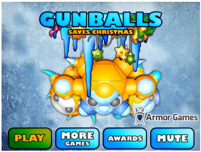 Armor Game : Gunball Saves Christmas