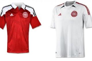 Kostum Denmark Euro 2012