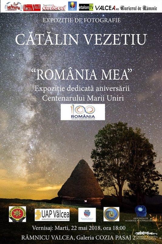 ROMÂNIA MEA - expoziție personală Cătălin Vezetiu