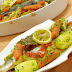 Fırında Sebzeli Balık