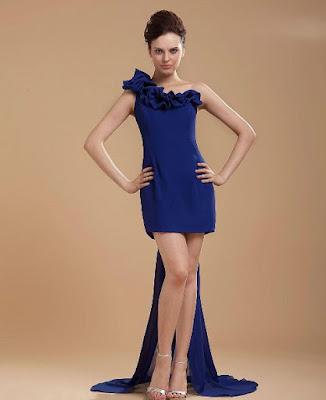 Model Gaun Pesta Pendek Terbaru