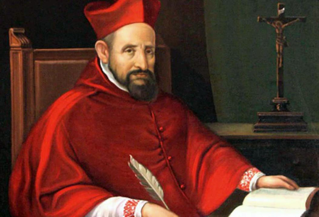 Saint Robert Bellarmine Michelangelo Portrait Paintings