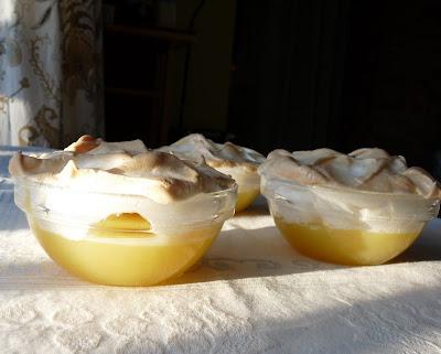 Lemon Meringue Pudding