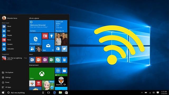 Hướng dẫn cách phát wifi cho Laptop Win 10