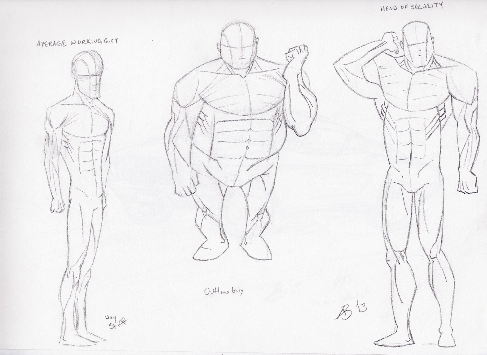 Christopher Hart Anatomy Image collections - human body anatomy