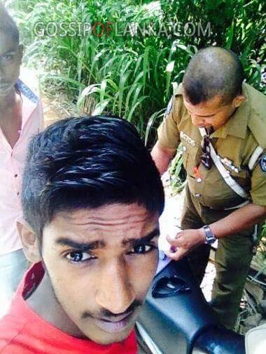 "Sri lankan's new selfie style "" POLFIE"""