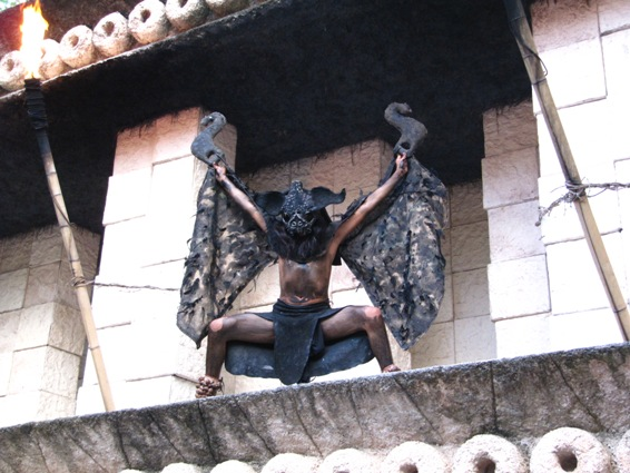 costumaţie maya, parc xcaret, mexic
