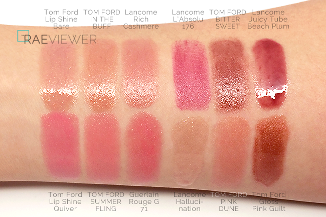 tom ford lip color sheer lipstick collection review photos swatches. Cars Review. Best American Auto & Cars Review