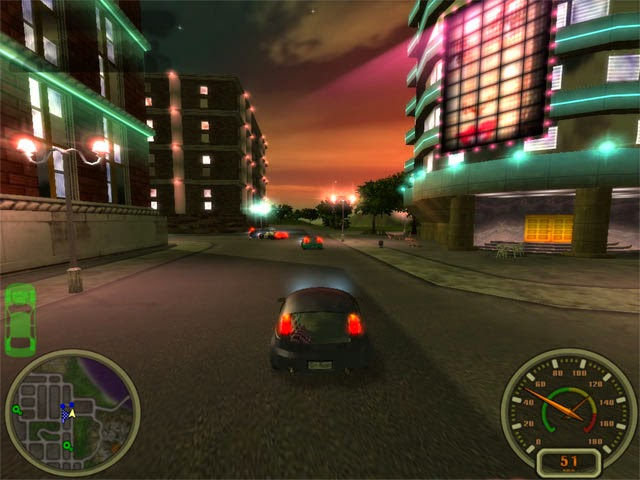 Game Ringan City Racing