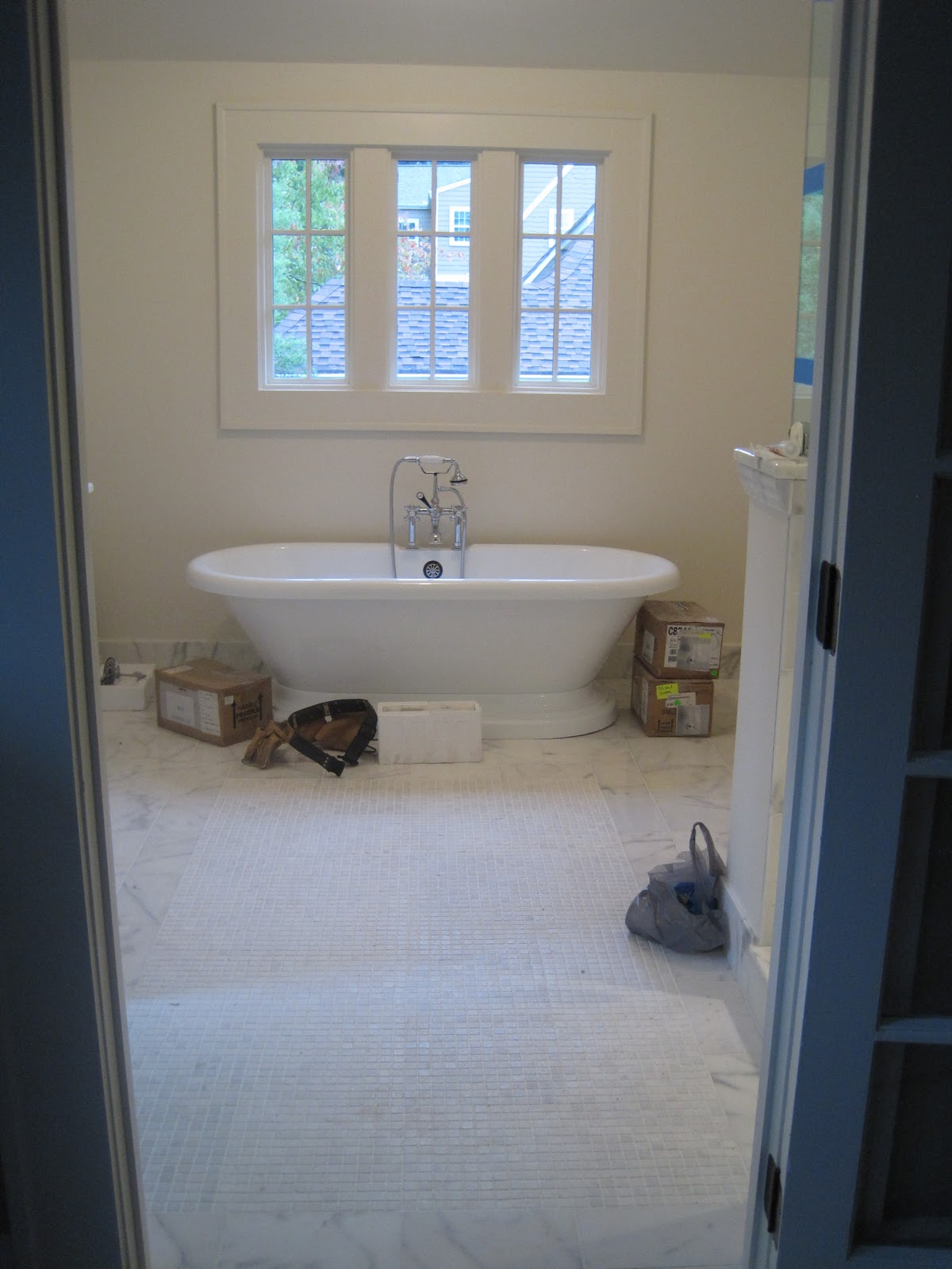 Pretty Old Houses Master Bathroom Update