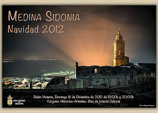 Cartel Belén Viviente en Medina Sidonia (Cádiz) 2012