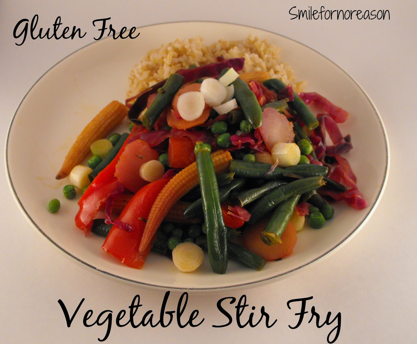 gluten fry vegetable stir fry