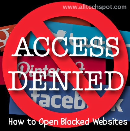How to open access blocked sites at college office easily way to open blocked sites access denied ccuart Choice Image