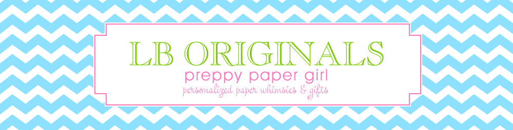 Preppy Paper Girl