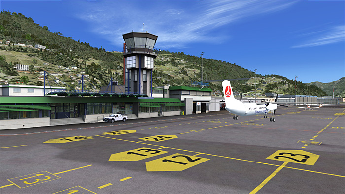 AirDailyX Flylogic's Lugano airport first glimpses