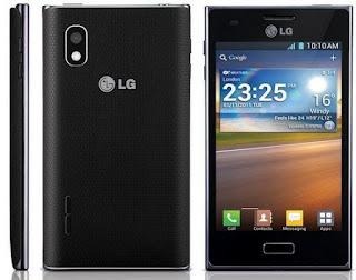 LG Optimus L5  ICS smartphone