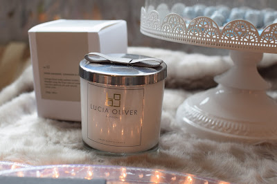 Lucia Oliver luxury candle - Christmas Gift Guide 2015 - Emma in Bromley