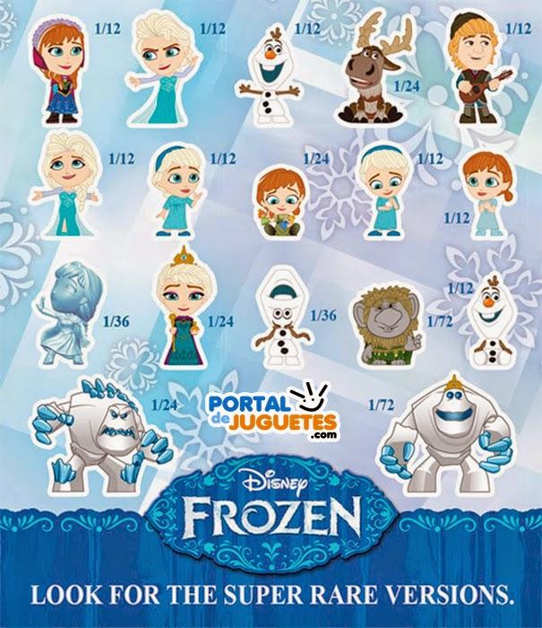 Mini Figuras Frozen Funko coleccion completa dibujos