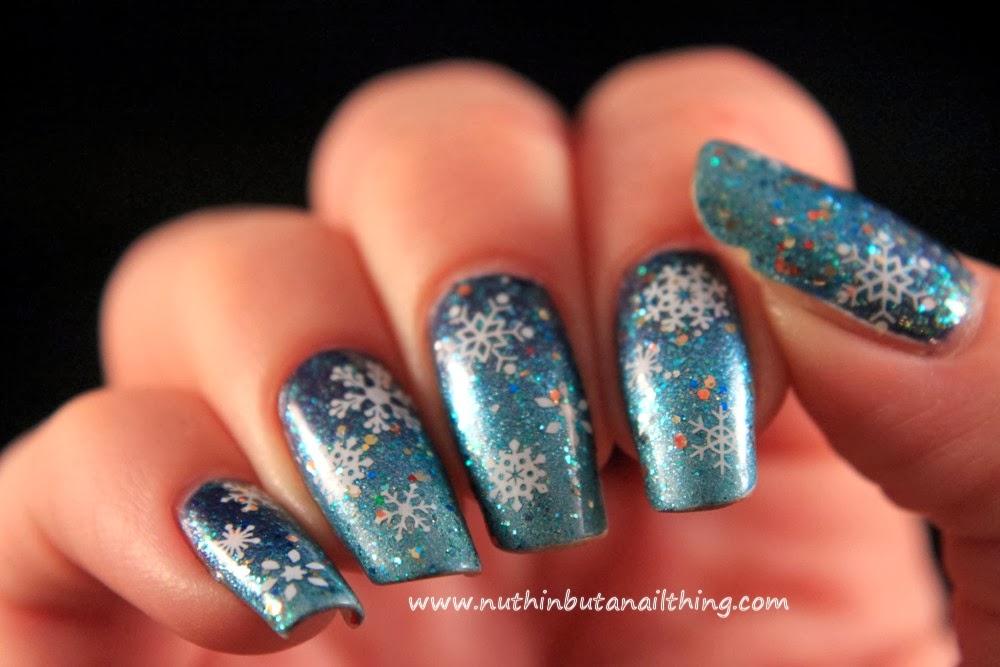 Born pretty store blog november nail art designs show use the nail art product white star snowflake bell circle dot cupid nail water stickers prinsesfo Images