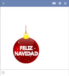 Feliz Navidad Facebook Sticker