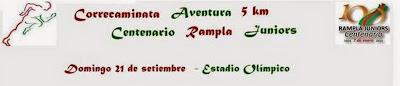 5k Correcaminata aventura Centenario Rampla Juniors (Cerro de Montevideo, 21/sep/2014)