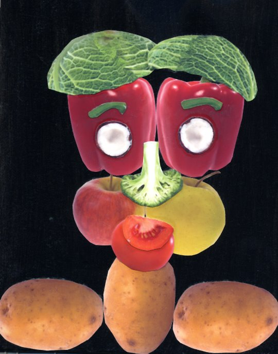 Fruit Face | Art Projects for Kids
