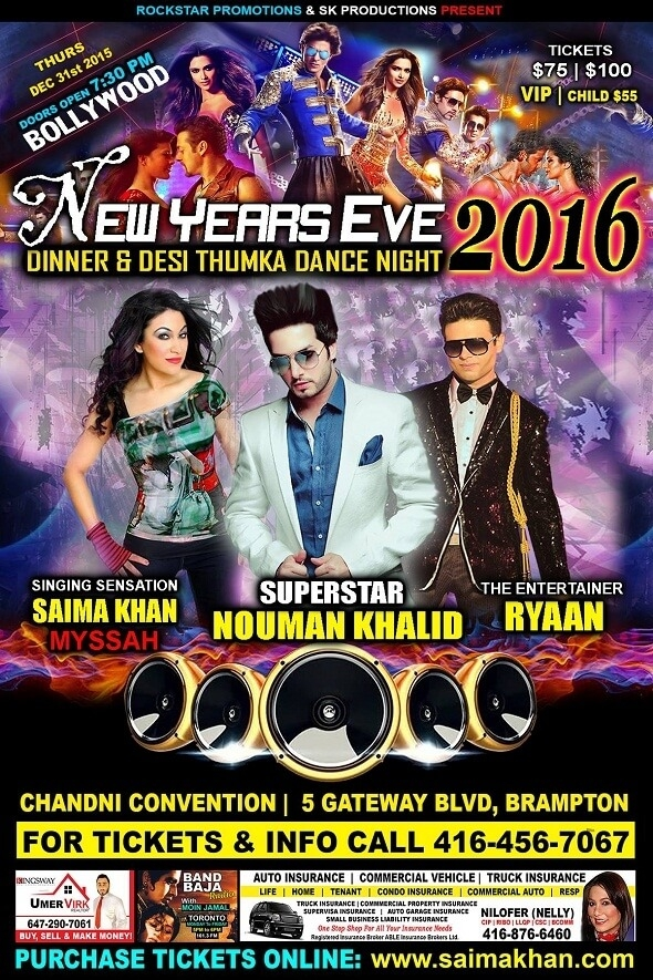 Bollywood New Years Eve