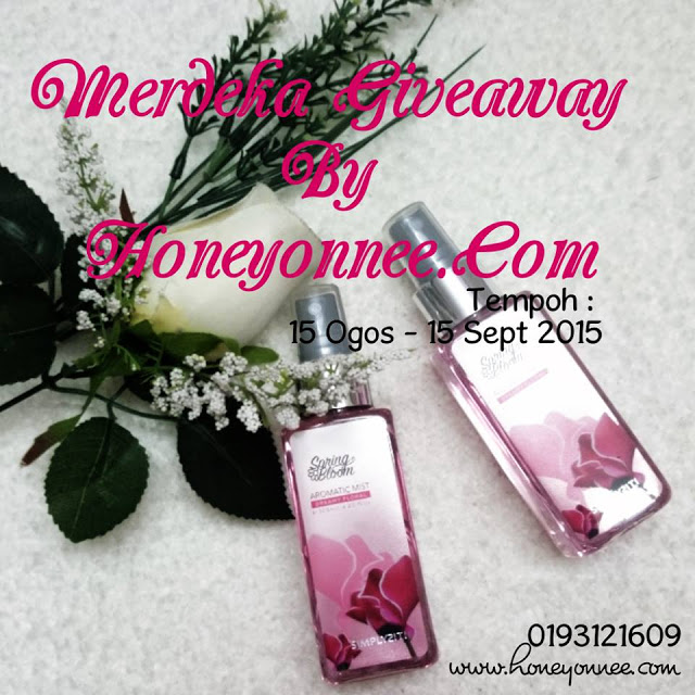 Merdeka Giveaway By Honeyonnee.Com