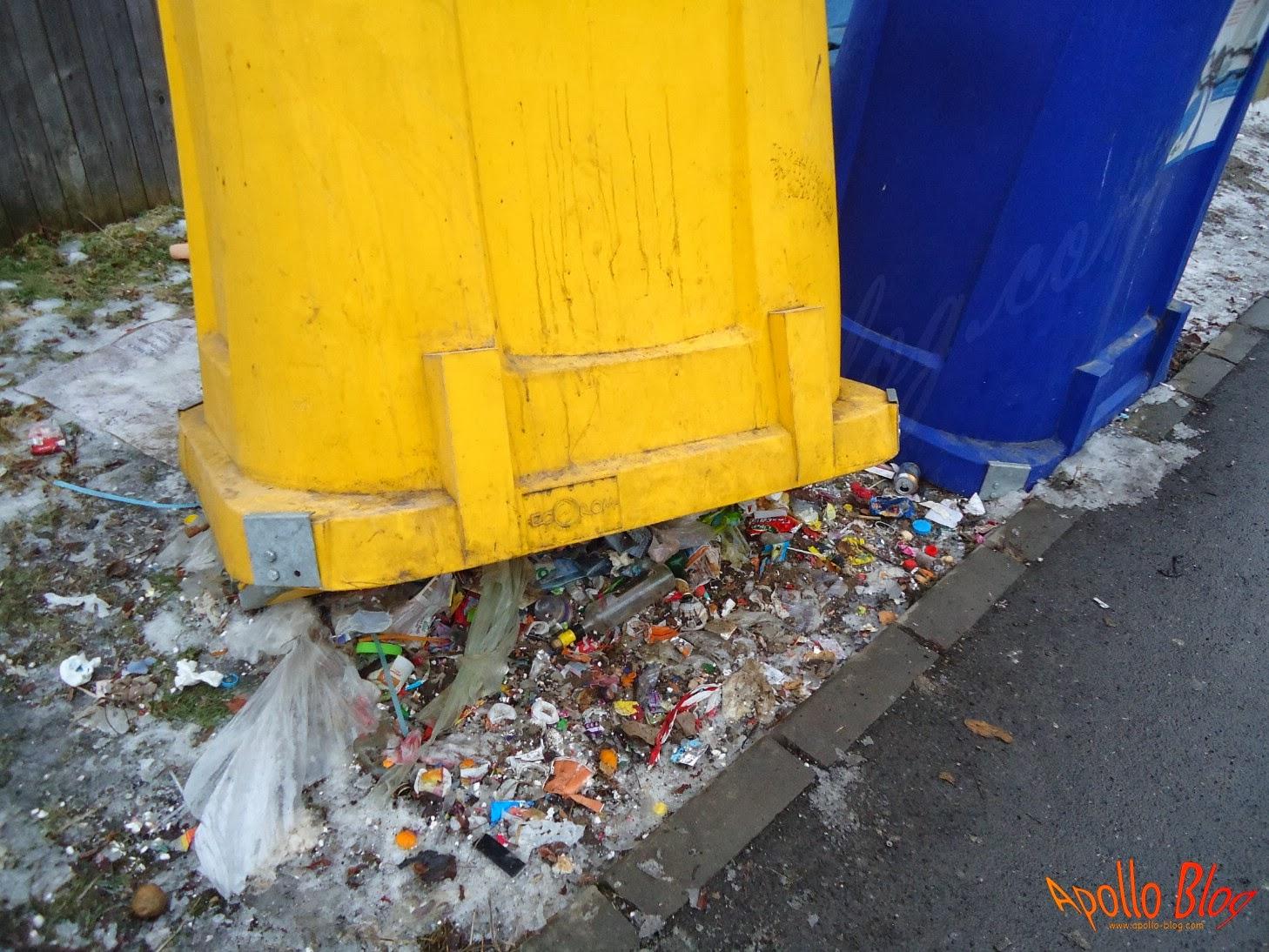 Reciclare deseuri cartierul Eroilor Toplita