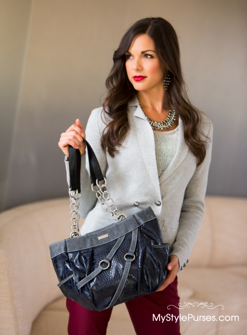 Miche Lois Demi Shell is the perfect purse to pair with Blue Jeans