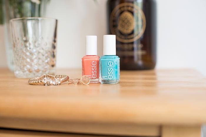 bright essie nail polish