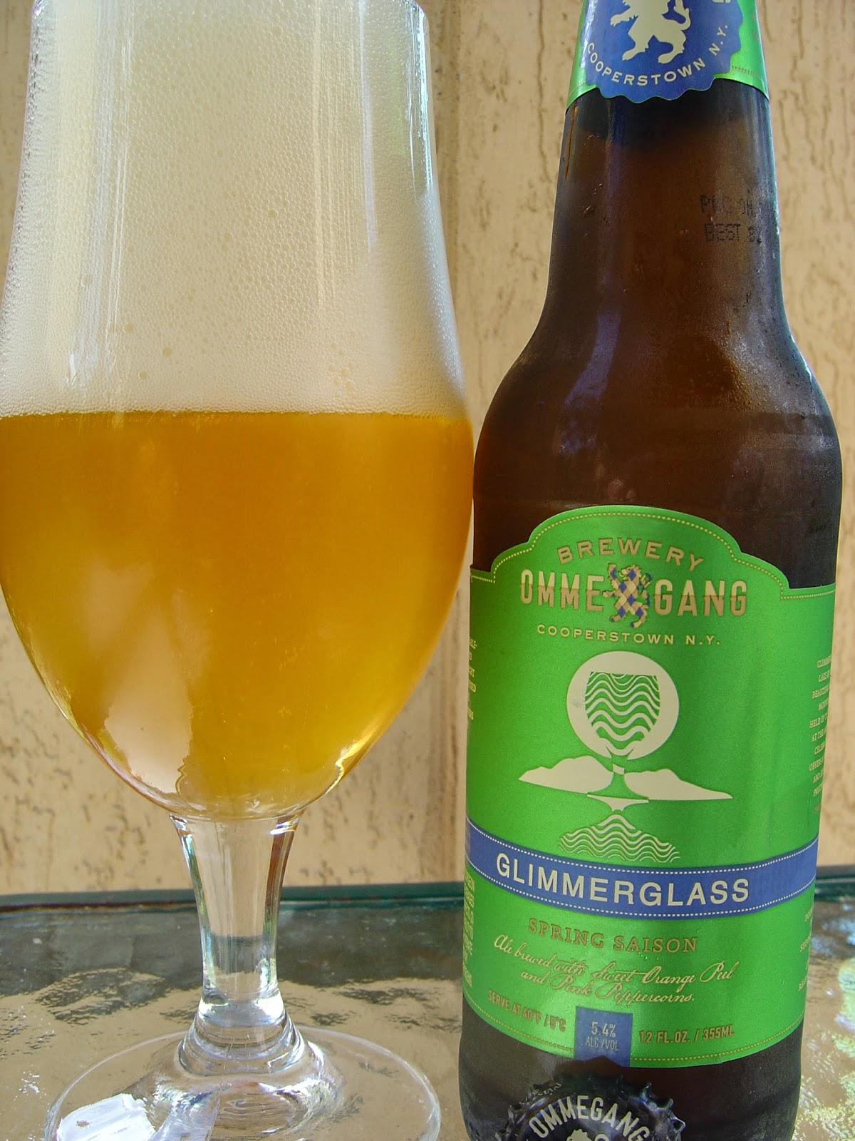 daily beer review glimmerglass spring saison. Black Bedroom Furniture Sets. Home Design Ideas