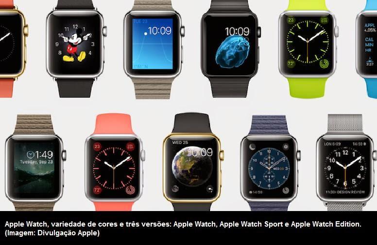 2f39a70afd3 Blognetto  Apple Watch  conheça o novo relógio inteligente com tela ...
