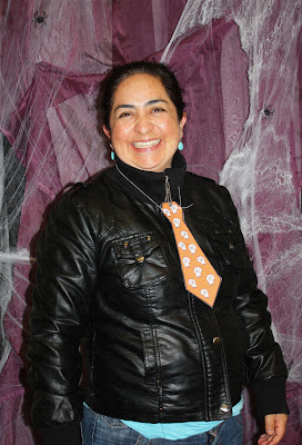 FIESTA HALLOWEEN SWEET SIXTEEN CRAFT STORE OCTUBRE 2012