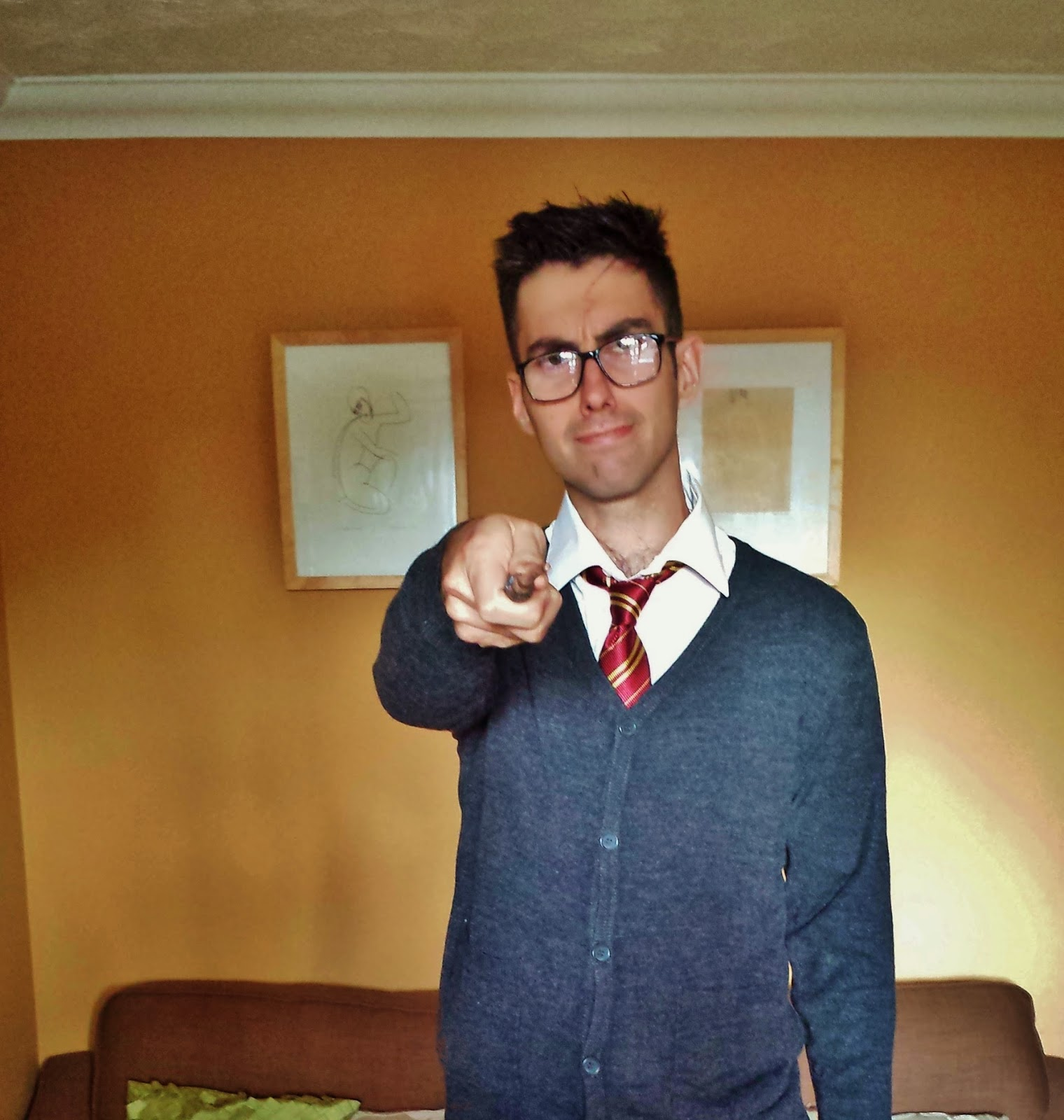 Adult Harry Potter Fancy Dress Outfit