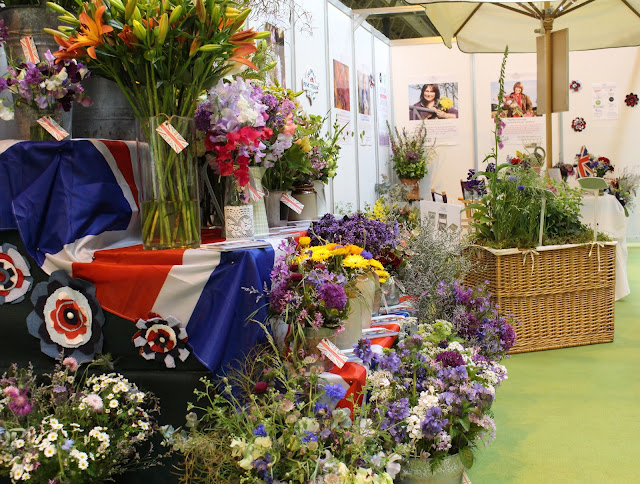 Flowers from the Farm West Midlands at BBC Gardeners World Live 2015