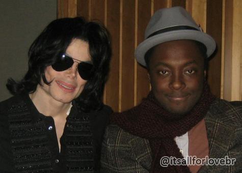 Will.I.Am gostaria de se apresentar com holograma de Michael Jackson  William+e+michael+jackson